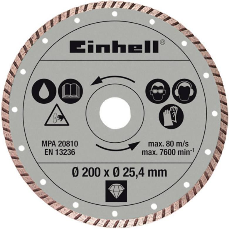 einhell 4301175 diamond cutting disc radial tile cutter accessories diameter 200 mm 1 pc s