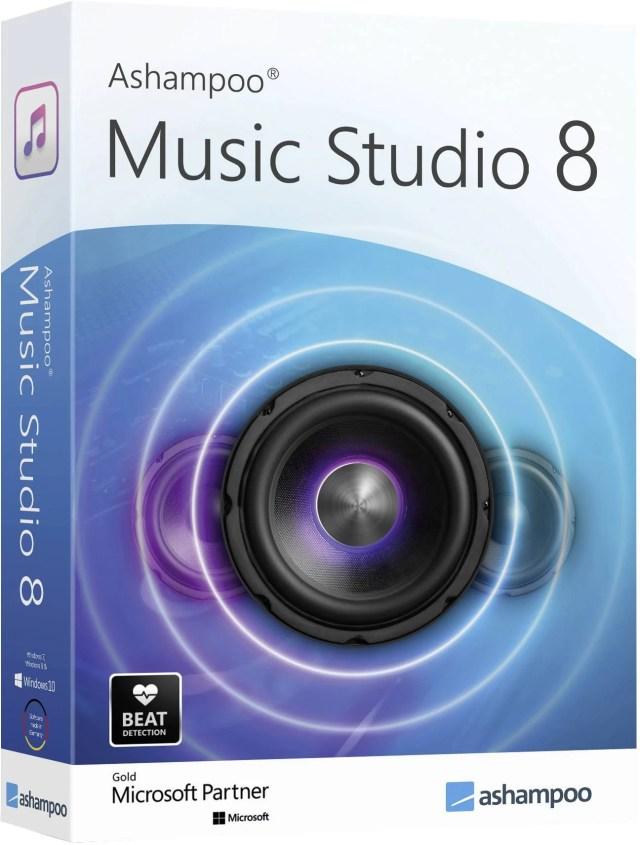Ashampoo Music Studio 144 Full version, 14 licence Windows Music