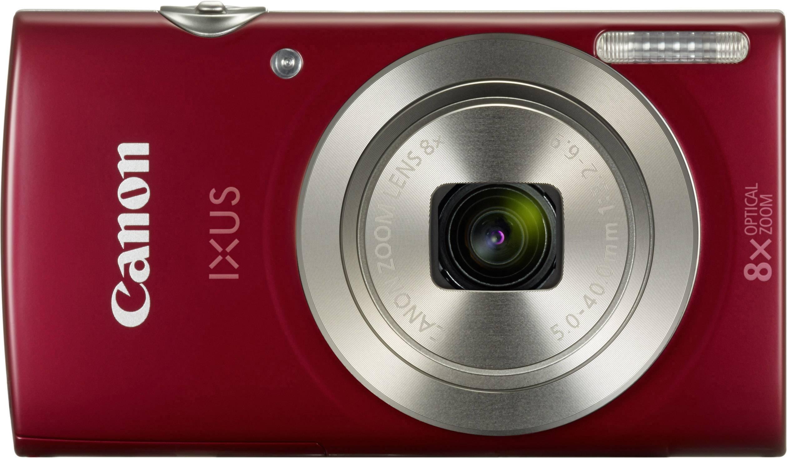 Canon IXUS 185 Digital camera 20 MP Optical zoom: 8 x Red | Conrad.com