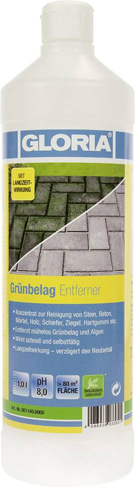 Green carpet freshener, shop locking 1 Liter Gloria Haus und Garten