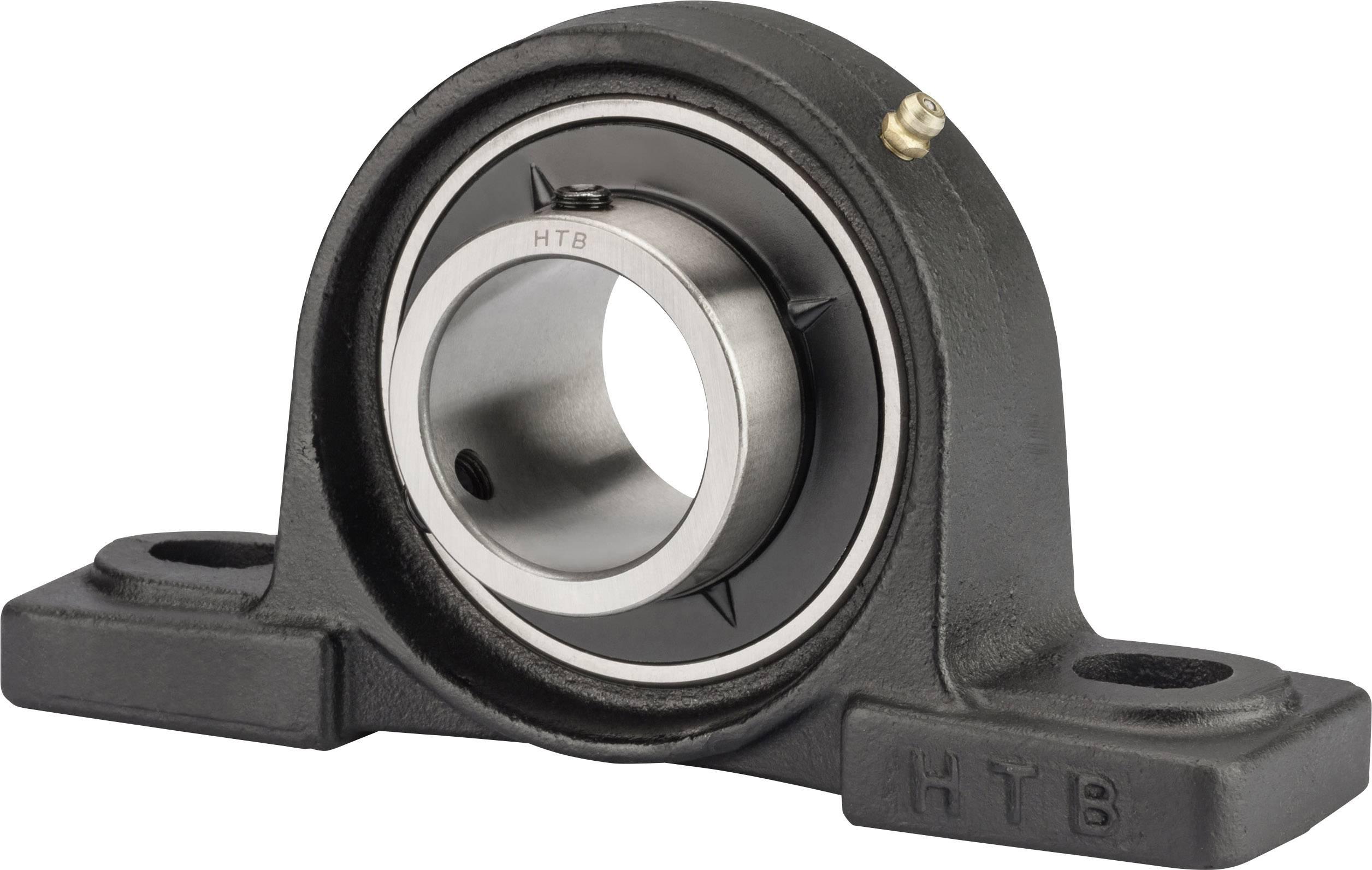 htb ucp 205 plummer block grey iron bore diameter 25 mm hole spacing 105 mm