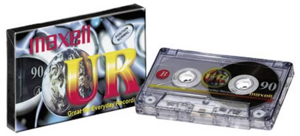 Maxell UR 90 90min Blank Audio Casette Tape | Conrad.com