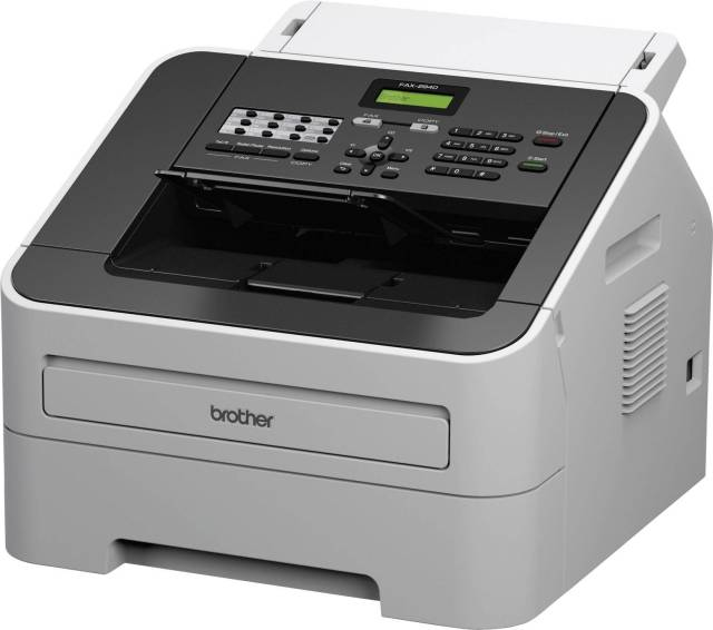 Brother FAX-29, laser fax machine (29 Sides page memory, 29 sheet  page/document feed, modem speed)