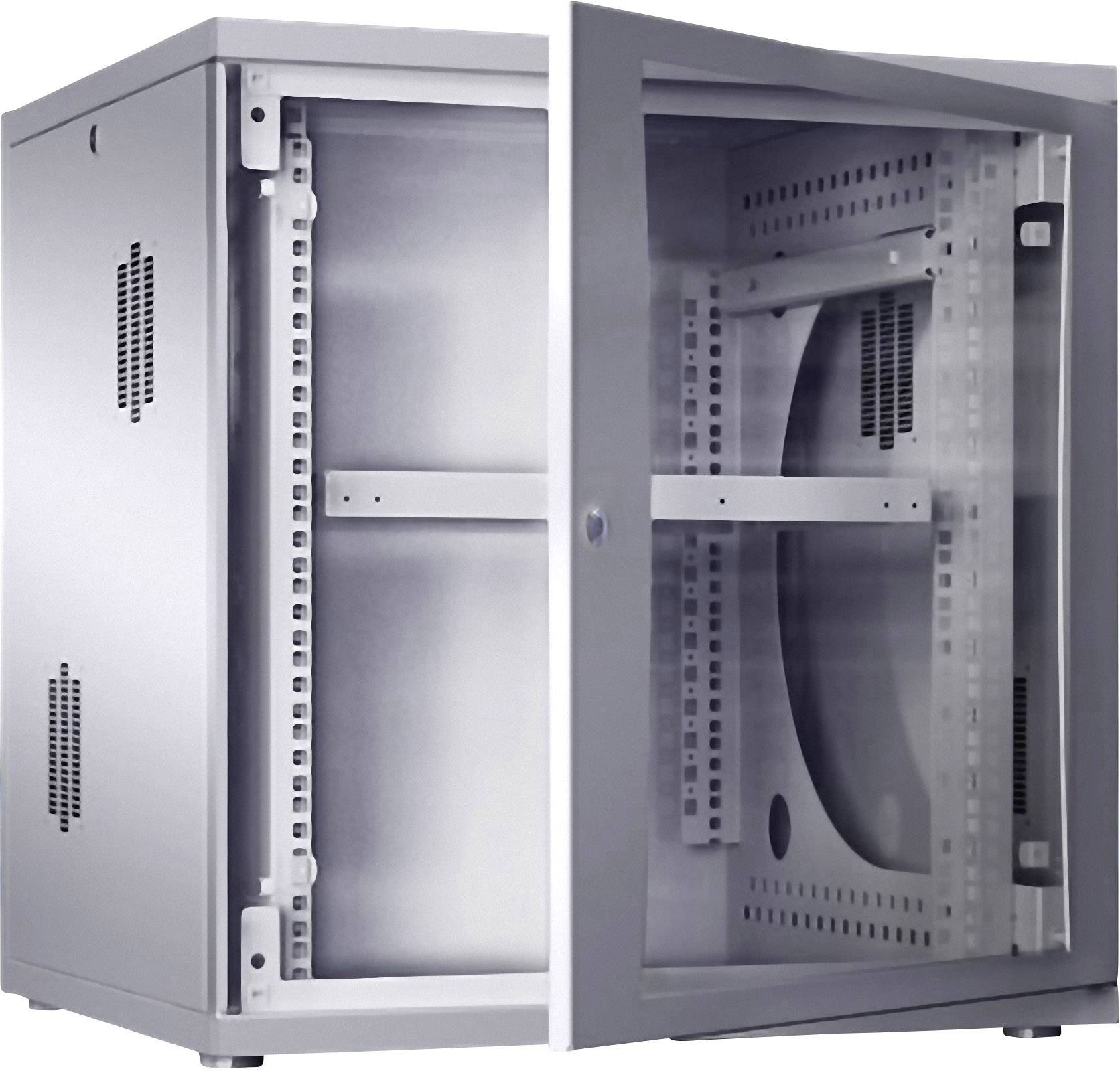rittal 7507 120 19 server rack cabinet w x h x d 600 x 625 x 600 mm 12 he grey white ral 7035