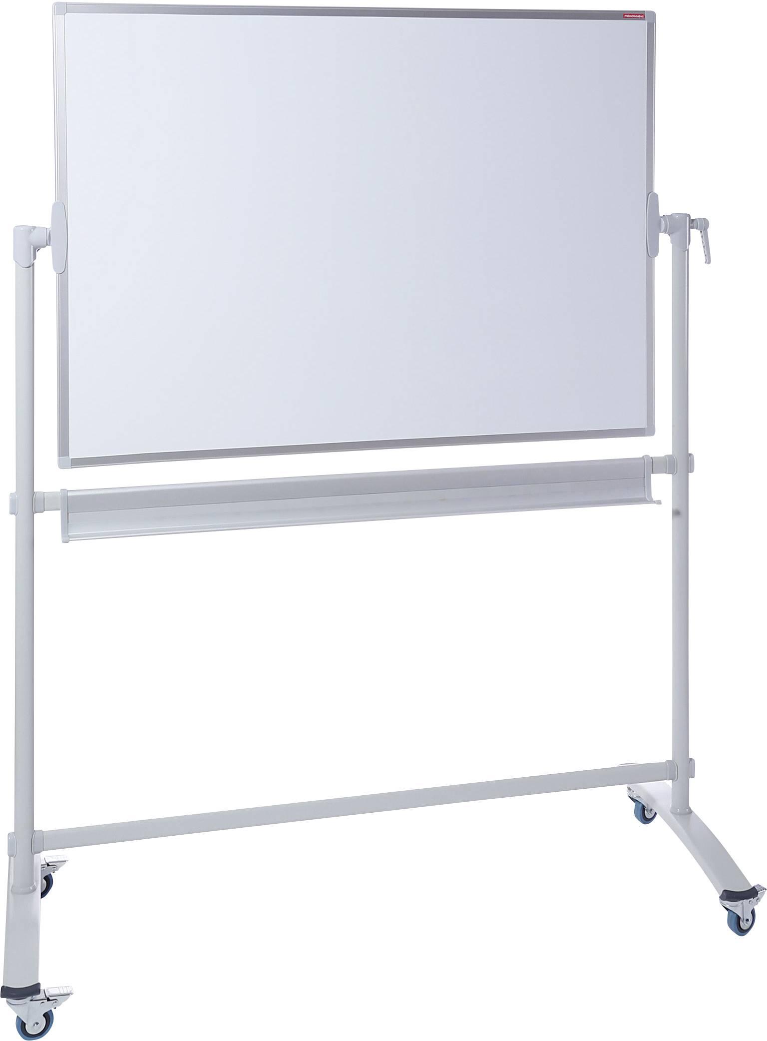 tableau blanc mobile dahle 76 96180 12863 l x h 100 cm x 150 cm blanc laque 1 pc s