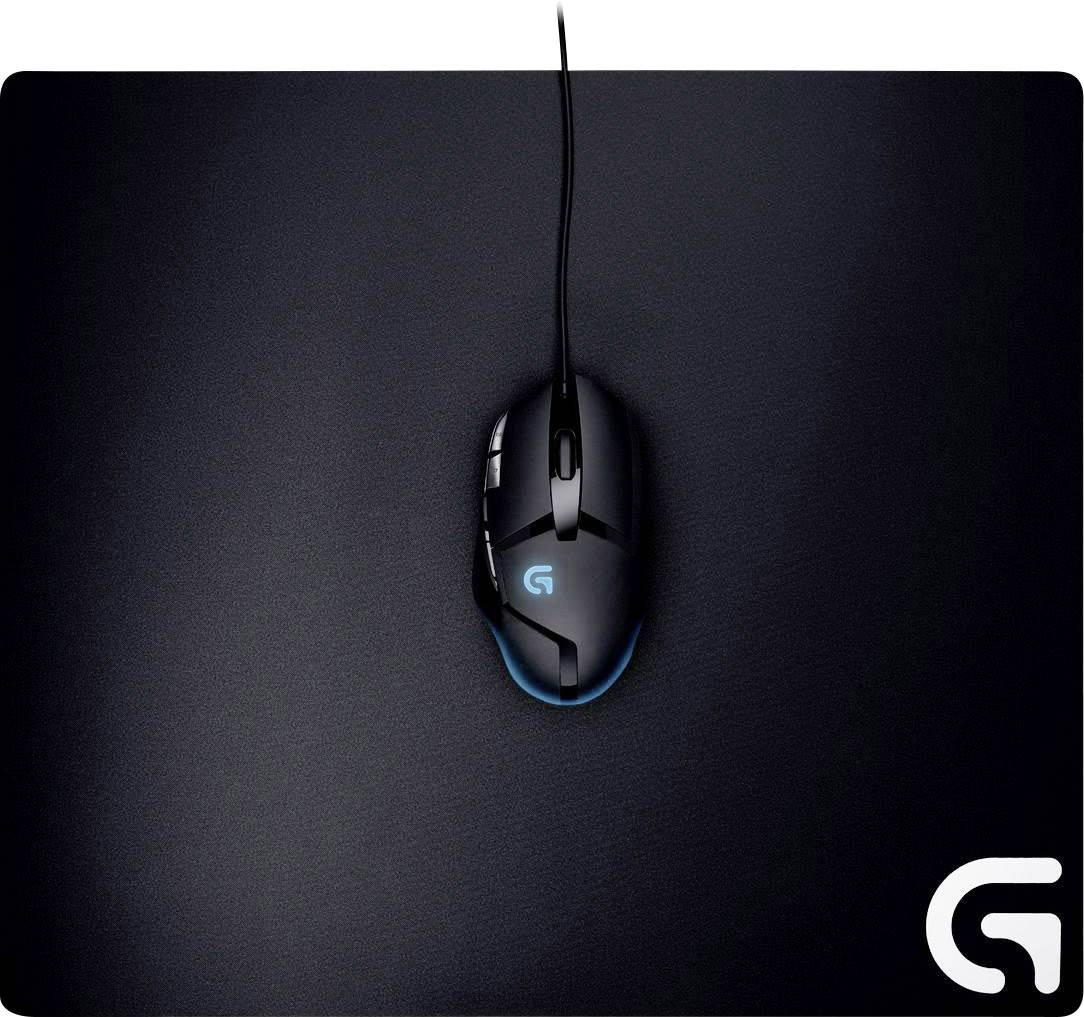 tapis de souris de gaming logitech gaming g640 noir