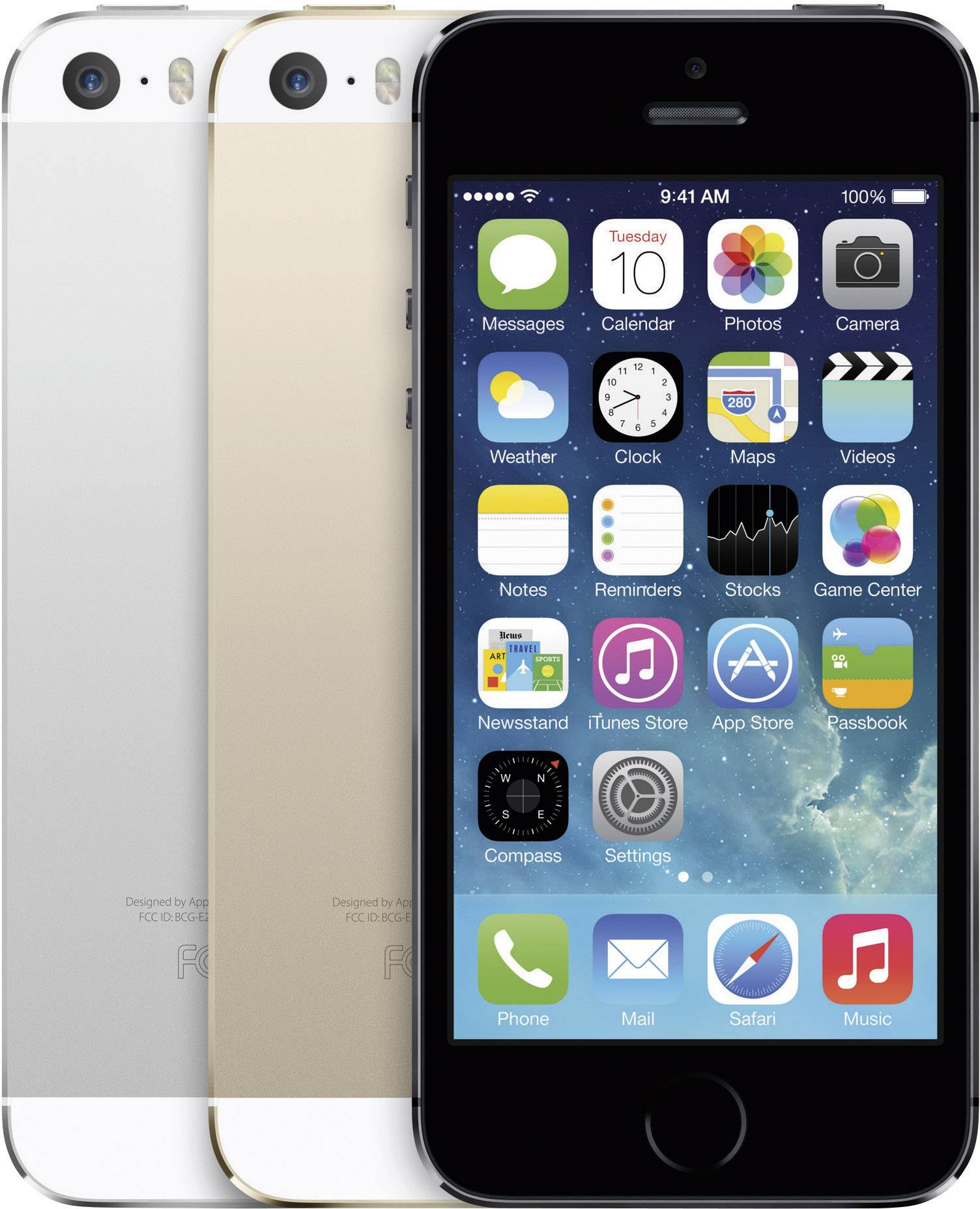 Apple iPhone 5S reconditionn     4 pouces  10 2 cm  64 Go argent