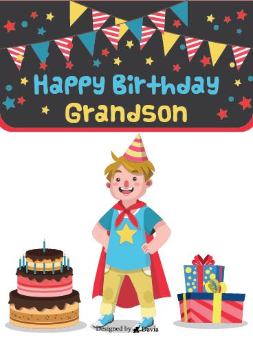 Birthday Cake Cards For Grandson Birthday Greeting Cards By Davia Free Ecards