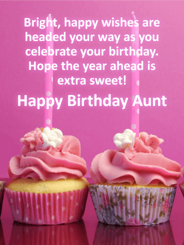 Happy Birthday Auntie Messages With Images Birthday Wishes And Messages By Davia