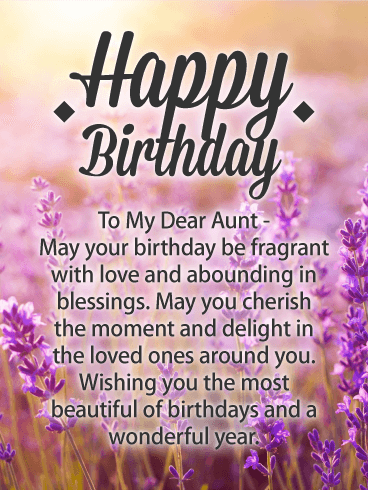 Photo Birthday Cards For Aunt Birthday Greeting Cards By Davia Free Ecards