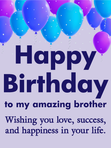 Happy Birthday Brother Messages With Images Birthday Wishes And Messages By Davia