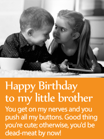 To My Terrific Brother Happy Birthday Wishes Card Birthday Amp Greeting Cards By Davia
