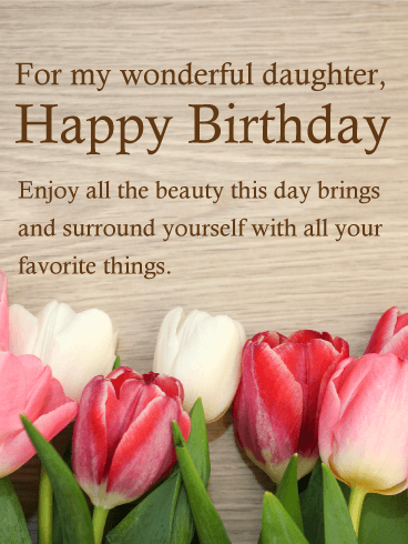 Birthday Wishes for Daughter - Birthday Wishes and Messages by Davia