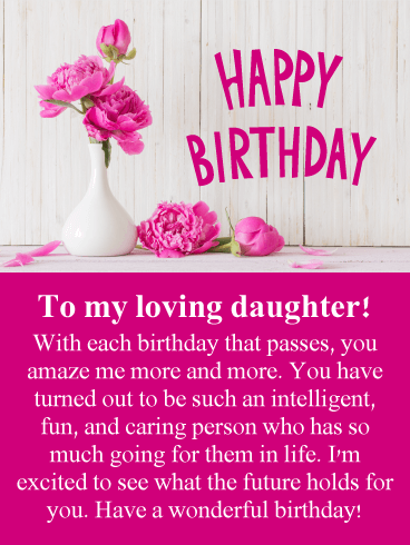 Birthday Cards For Daughter Birthday Greeting Cards By Davia Free Ecards