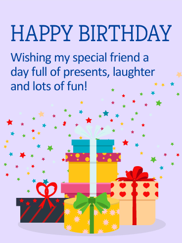 You Are A Star On Your Special Day Happy Birthday Card For Friends Birthday Amp Greeting Cards