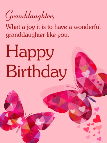 Birthday Wishes For Granddaughter Birthday Wishes And Messages By Davia