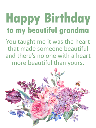 Birthday Wishes For Grandmother Birthday Wishes And Messages By Davia