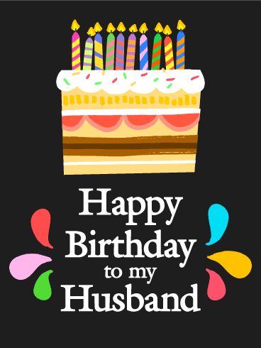 Sweet Surprise Happy Birthday Card For Husband Birthday Greeting Cards By Davia