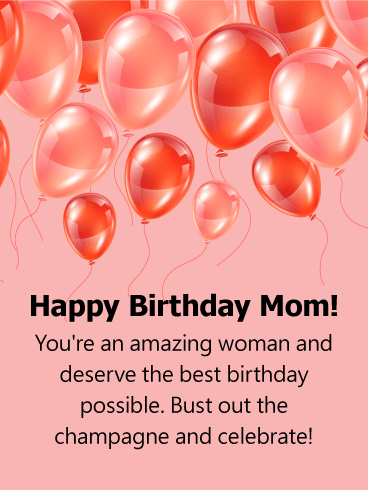 Happy Birthday Mom Messages With Images Birthday Wishes And Messages By Davia