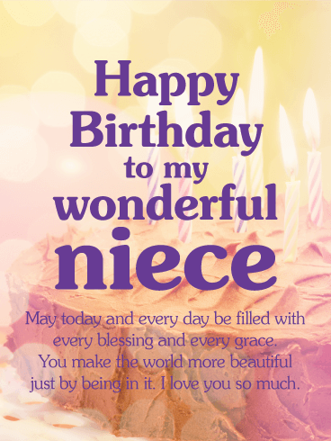 Happy Birthday Niece Messages With Images Birthday Wishes And Messages By Davia
