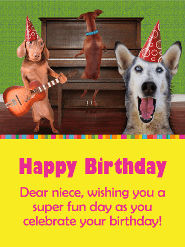 Thinking Of You Today Happy Birthday Card For Niece Birthday Greeting Cards By Davia