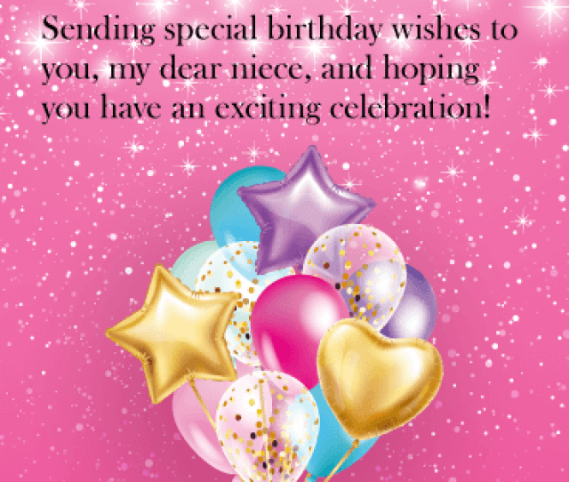 Have An Exciting Celebration Happy Birthday Card For Niece