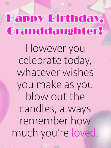 Birthday Balloon Cards For Granddaughter Birthday Greeting Cards By Davia Free Ecards