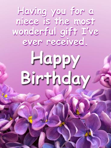 Birthday Cards For Niece Birthday Greeting Cards By Davia Free Ecards