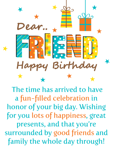 Birthday Cards For Friends Birthday Greeting Cards By Davia Free Ecards