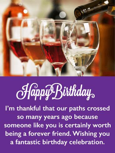 A Fantastic Celebration Happy Birthday Card For Friends Birthday Greeting Cards By Davia