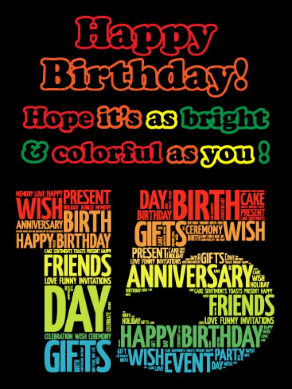 Happy 15th Birthday Images