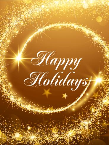 Seasons Greetings Cards 2018 Happy Holidays Greetings