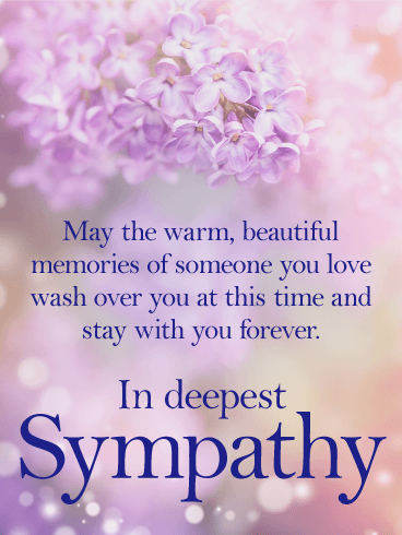 Sympathy Cards Birthday Amp Greeting Cards By Davia Free