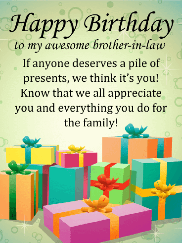 Happy Birthday Brother-in-law Messages with Images - Birthday Wishes and  Messages by Davia