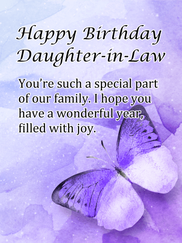 Birthday Cards For Daughter In Law Birthday Greeting Cards By Davia Free Ecards