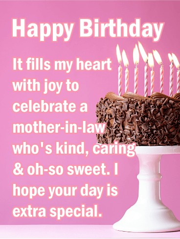 Happy Birthday Mother In Law Messages With Images Birthday Wishes And Messages By Davia