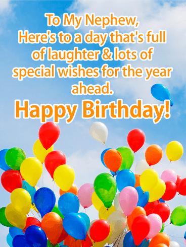 Original Birthday Wishes For Nephew Happy Birthday Cards