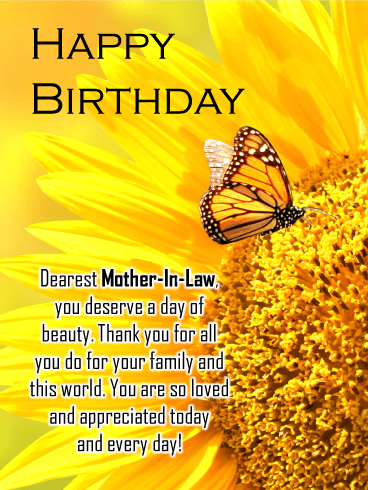 Birthday Wishes For Mother In Law Birthday Wishes And Messages By Davia