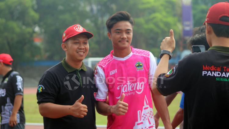 Kiper Timnnas Indonesia U-16, Ernando Ari Sutaryadi. Copyright: Ronald Seger Prabowo/INDOSPORT