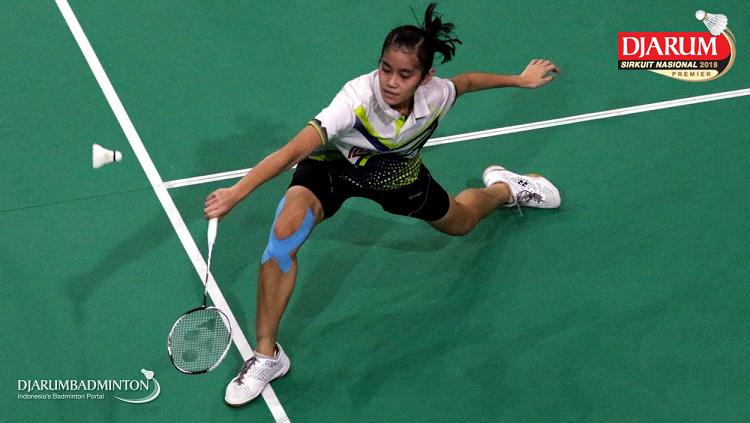 Stephanie Widjaja di Sirnas Djarum. Copyright: Djarum Badminton