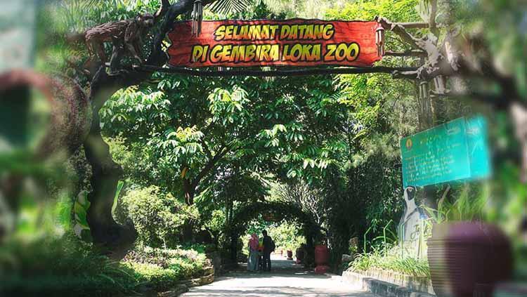 Kebun Binatang Gembira Loka yang berada di Yogyakarta. Copyright: joss.co.id