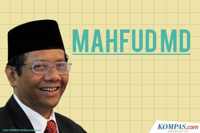 Infografik Profil Mahfud MD