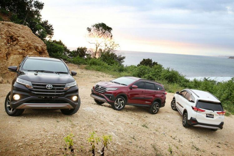 Laris Manis, Penjualan Toyota Rush Tembus 5.000 unit Per Bulan