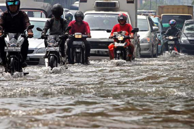 Terabas banjir