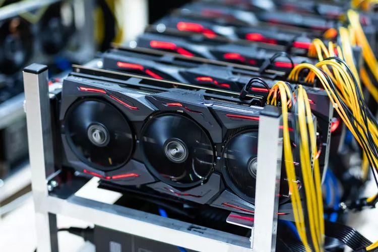 Ilustrasi GPU.