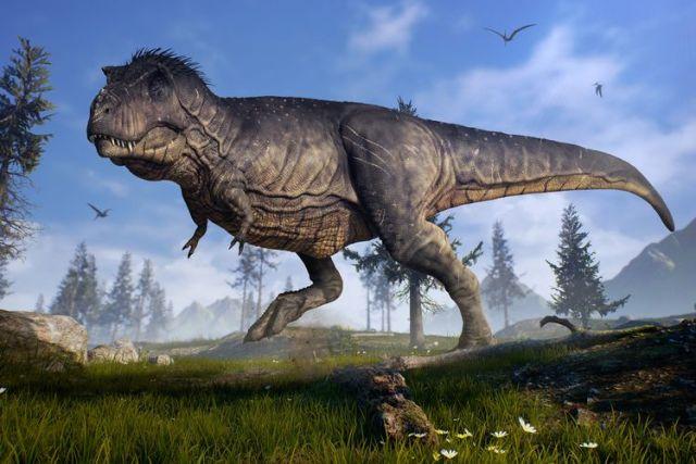 Spesies Dinosaurus Baru, Pemburu Fosil Inggris Temukan Tulang Sepupu T.rex Halaman all - Kompas.com