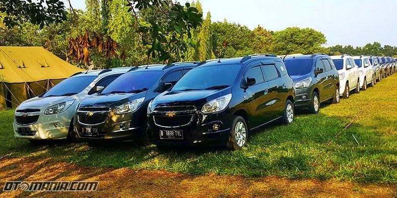 Chevrolet Spin Indonesia at CUC 2015