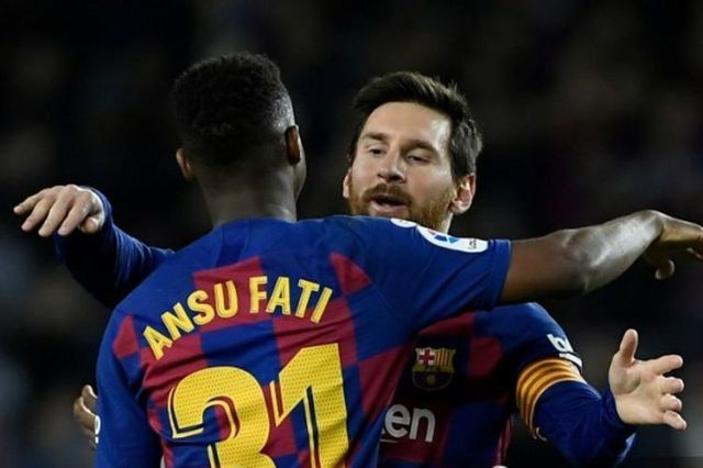 Fakta Menarik Barcelona Vs Levante Terkait Messi, Ansu Fati, dan ...