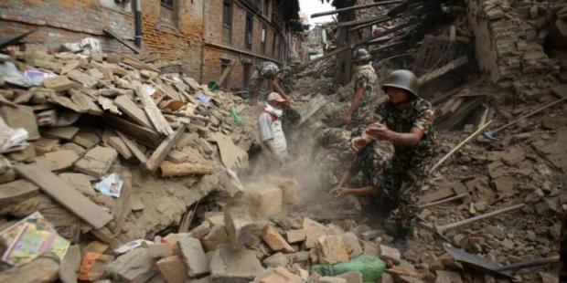 Jumlah Korban Jiwa Gempa Susulan di Nepal Jadi 117