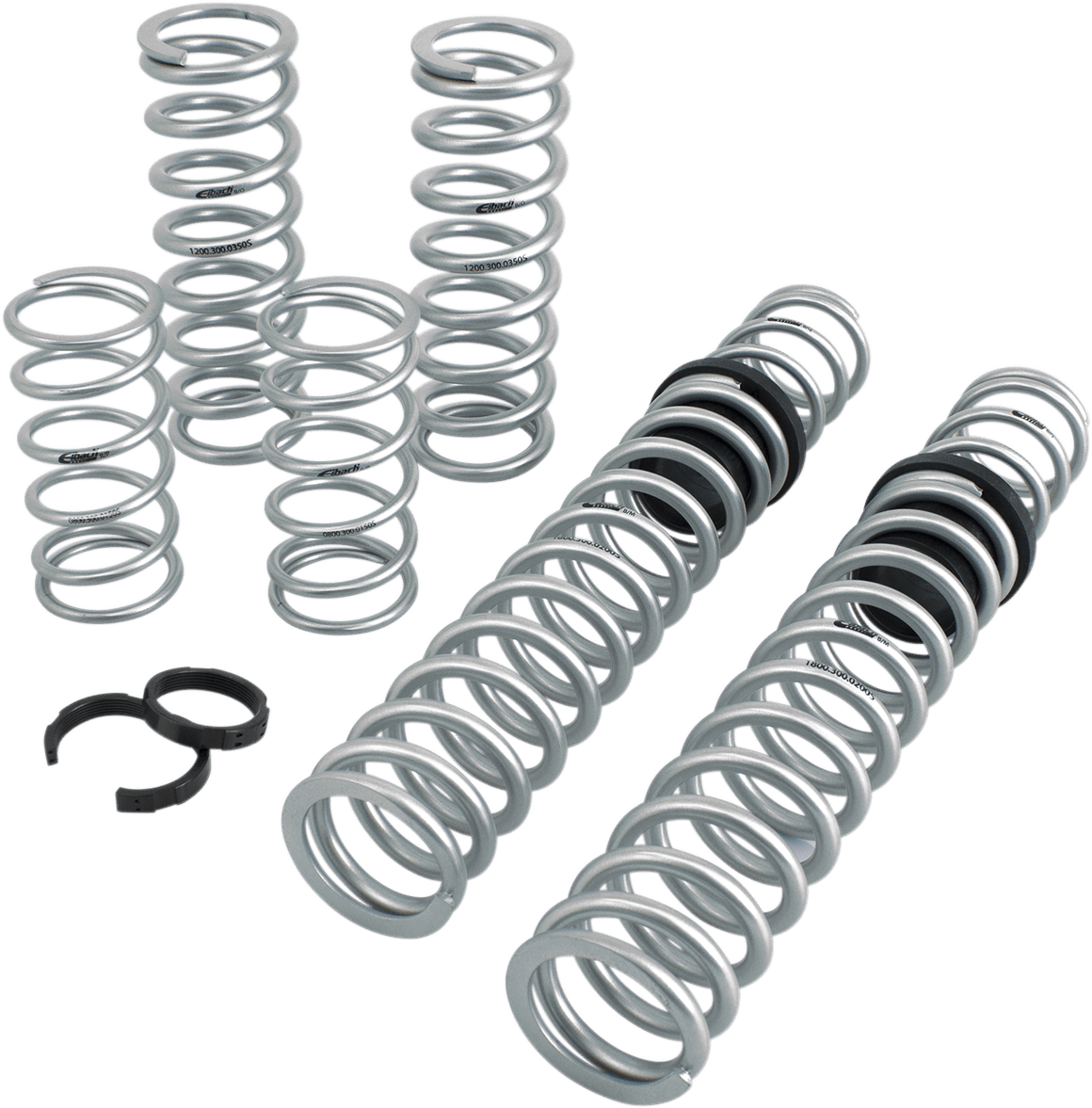 Eibach Stage 2 Side By Side Rear Shock Spring Kit For